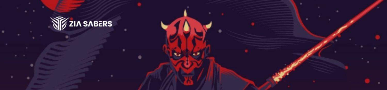 Darth Maul lightsaber