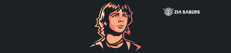 Luke Skywalker's Lightsaber color