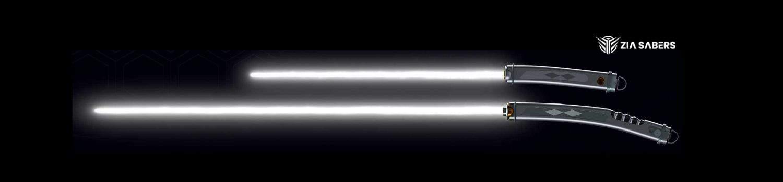 white lightsaber